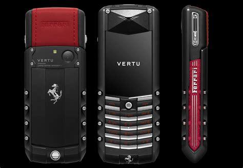 limited edition vertu ascent ferrari gt phone designed