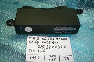 This Fuse Box Is For Mercedes Benz Cl500 - Cl600