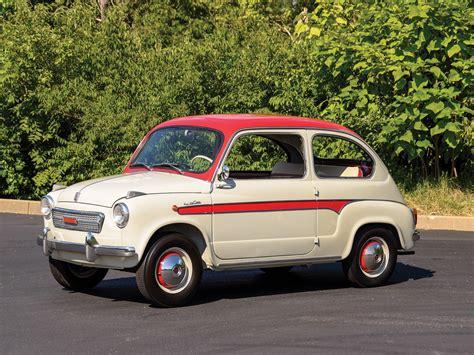 Fiat 600d by Rm Sotheby S 1959 Fiat 600d Berlina By Viotti Auburn