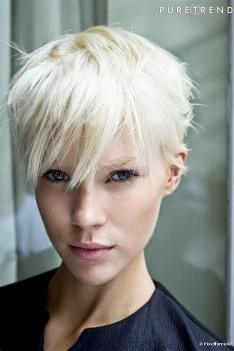 modele coiffure courte effilee