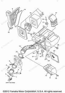 Yamaha Motorcycle 2007 Oem Parts Diagram For Intake