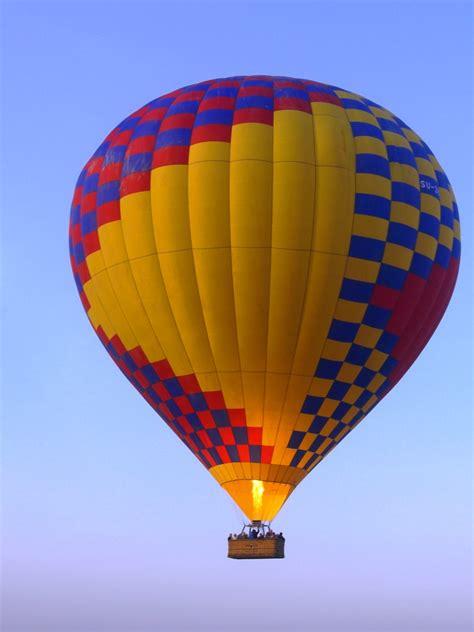hot air balloon air ballooning luxor buckettripper