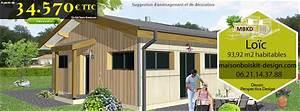 chalet ossature bois en kit prix l39habis With plan de maison 150m2 8 aubetiere maison moderne plain pied pas cher