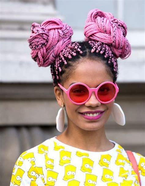 Coiffure afro femme hiver 2015 - Coiffures afro  les filles stylu00e9es donnent le ton - Elle
