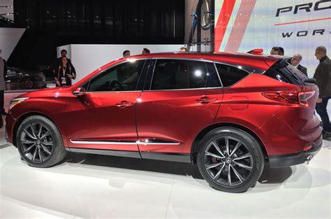 2019 Acura Rdx Offers Glimpse Of Upcoming Honda Tech Autocar