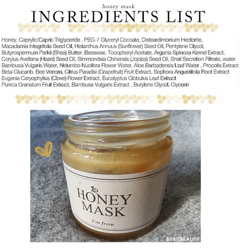 Honey Mask Review  I'm From Honey Mask Review