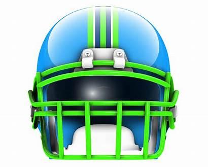 Helmet Football Facing Clipart Vector Drawing Ole