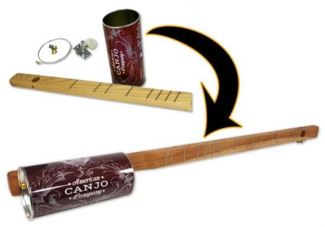 string bild one string canjo kit a easy to play instrument that you build yourself ebay