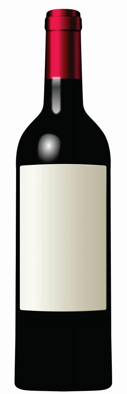 Wine Bottle Clipart Silhouette Bottles Champagne Beer