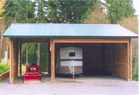 Carport With Shed by Carport With Shed Attached Plantoburo