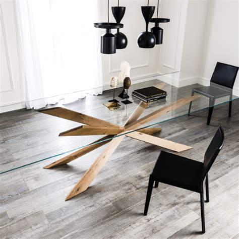 spyder dining table   dinning table design glass