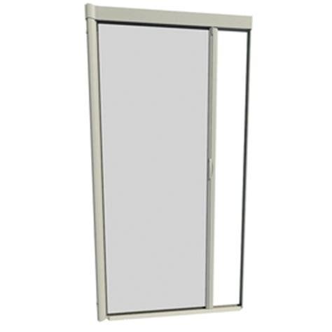 larson retractable screen door shop larson 48 in x 91 in adobe retractable screen door at