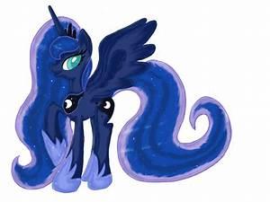 My Little Pony Princess Luna By Pumpkinkikile On Deviantart