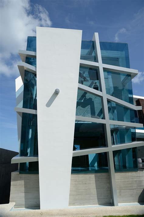 Abstract Shapes Architecture by Modernist Mexican House With Abstract Shape And Exciting