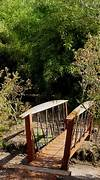 Bamboo Bridge bamboo garden bridge