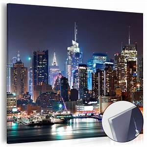 New York Deko : neu acrylglasbilder bild deko glas glasbild new york city stadt d c 0028 k a ebay ~ One.caynefoto.club Haus und Dekorationen
