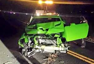 2015 Dodge Challenger SRT Hellcat Crashes In Colorado: UPDATE