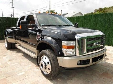 Ford F550 King Ranch by Sell Used 08 F450 King Ranch 4x4 4wd Crew Cab Diesel