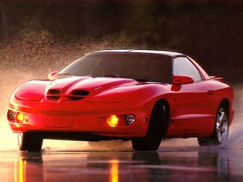 pontiac firebird overview carscom