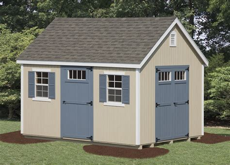 Get the best deal for garden storage sheds from the largest online selection at ebay.com. New England Shed - Vinyl | Amish Backyard Structures