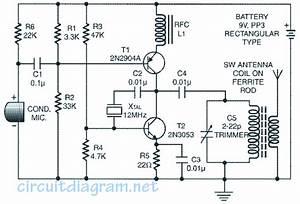 25 Metres Range  Short Wave Am Transmitter