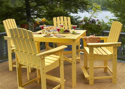 outdoor high top table and chairs set images high bar