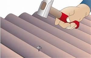 Schema Pose Plaque Fibro Ciment : pose de plaque bitum e ~ Dailycaller-alerts.com Idées de Décoration