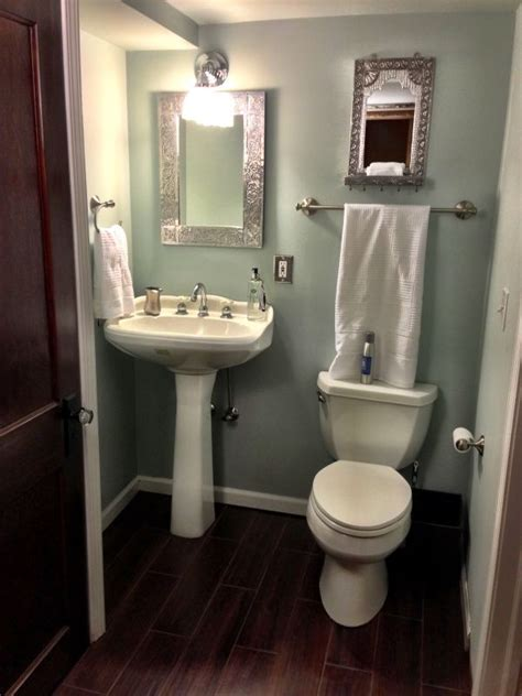 half bathroom ideas with pedestal sink 11 best images about oak or white trim that is the