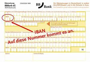Bic Aus Iban Berechnen : sepa bbbank eg ~ Themetempest.com Abrechnung