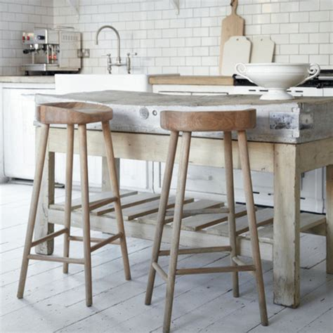oak stool rustic bar stools and kitchen stools by