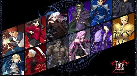 top  personagens mais populares de fate stay night