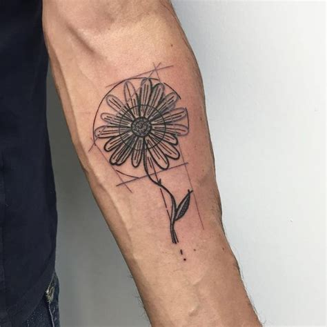 unique daisy tattoos  style  body