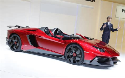 Lamborghini Aventador J First Look