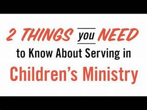 Children's Ministry Volunteer Training by Mark Moore - YouTube