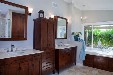 custom bathroom cabinets curved face sinks  level