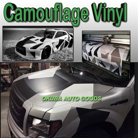 snow camo vinyl wrap camouflage vehicle wrap glossy matte surface arctic camo vinyl full