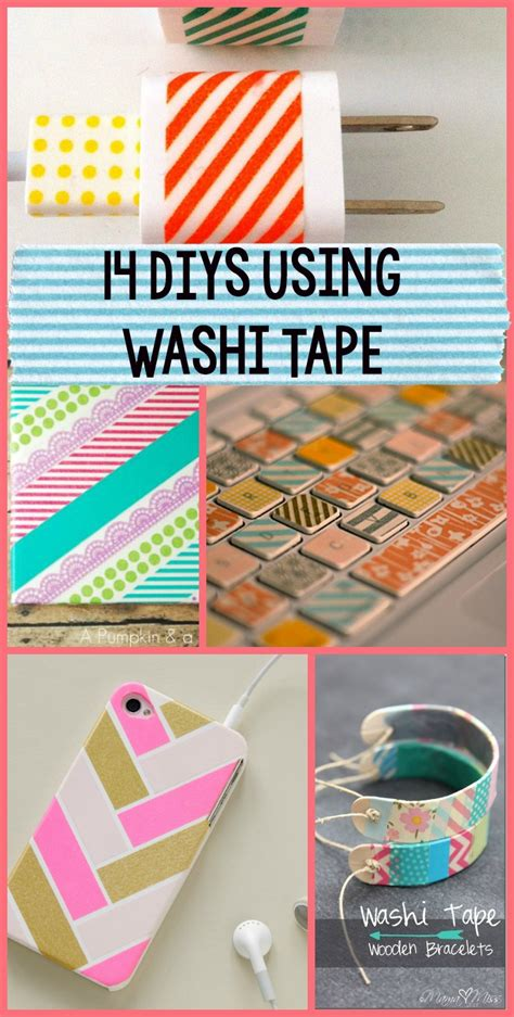 14 Washi Tape Diy's  A Little Craft In Your Day