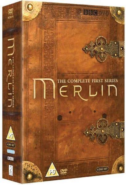 merlin complete series  box set dvd zavvi uk
