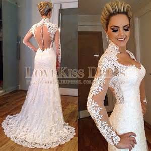 robe pale mariage dress modal picture more detailed picture about robe de mariage lace sleeve sheer back