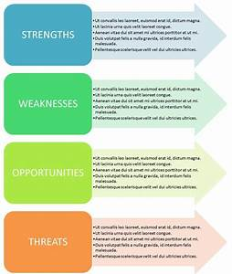 20 swot analysis template ppt files demplates With 4 blocker template