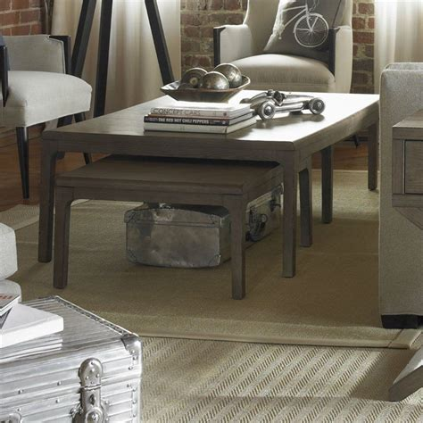 Designer accent coffee tables that are stylish yet affordable. Somerton Improv G 3 Piece Nesting Coffee Table Set in Gray Oak   Coffee table, Nesting coffee ...