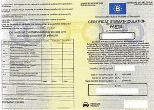 Perdu Carte Grise : qu 39 est ce qu 39 un certificat d 39 immatriculation ~ Maxctalentgroup.com Avis de Voitures