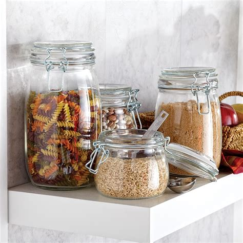glass kitchen canister set glass canister sets for kitchen kitchen canisters
