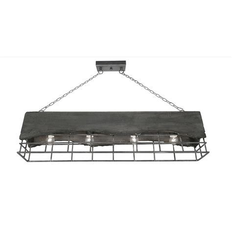 Oaks Kellen 4 Light Linear Ceiling Light Pendant   8812/4