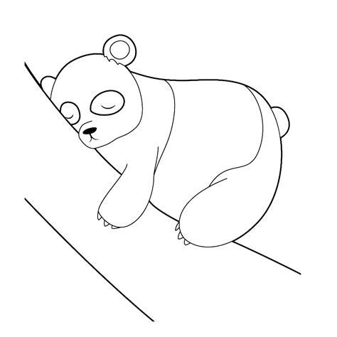 Kleurplaat Pandabeer by Leuk Voor Pandabeer 0008