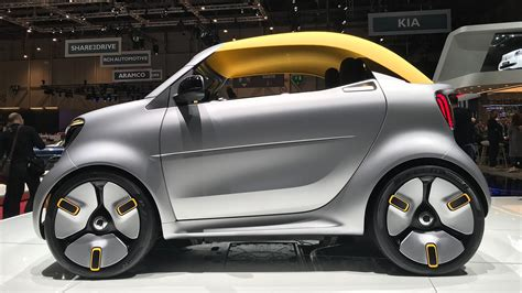 state of the smart forease cabrio concept gives a glimpse into the future car magazine