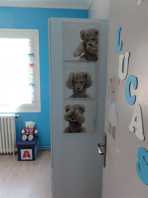 chambre bebe bleu gris chambre bébé garçon bleu gris photo 1 1 3516058