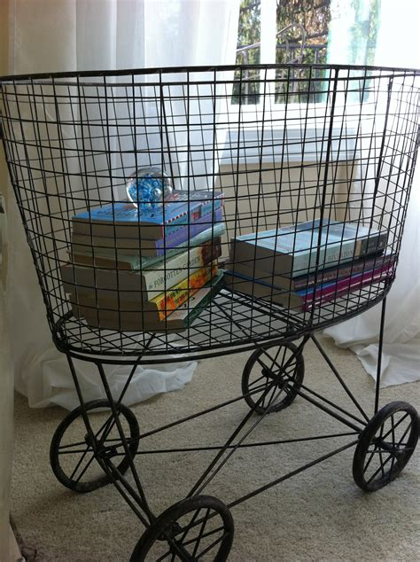 wire laundry basket on wheels favorite things friday 1918