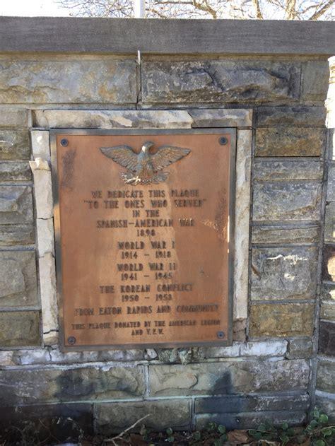 eaton rapids michigan war memorial  american legion