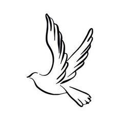 Interessante Ideenunterarm Taetowierung Weisse Taube by Vektor Schwalben Vorlage Vektor Silhouette